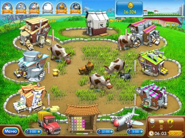 Скачать веселую ферму на компьютер бесплатно